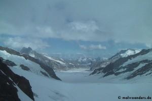Vom Männlichen zum Jungfraujoch