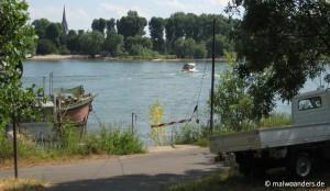 Radtour bis zur Zündorfer Fähre