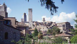 Von Colle di Val d'Elsa nach San Gimignano