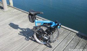 Mit dem Brompton Faltrad von Warnemünde nach Heiligendamm | Radtour