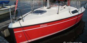 Fox 22 segeln in Roermond