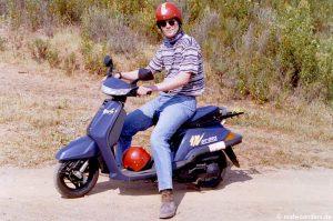 Mit dem Motoroller in die Berge
