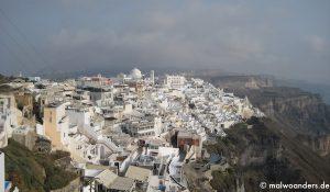 Von Naxos nach Santorini