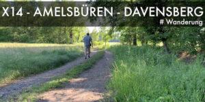 X14 von Amelsbüren nach Davensberg