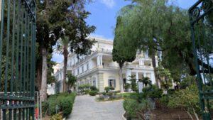 Radtour zum Achillion Palast der Kaiserin Sisi